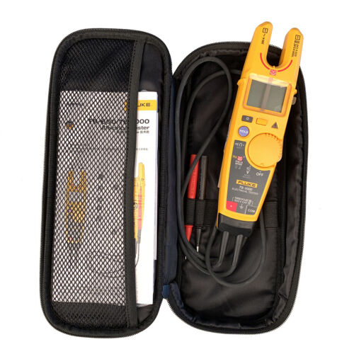 Fluke T6-1000 Clamp Meter Continuity Current Tester FieldSense with carry case