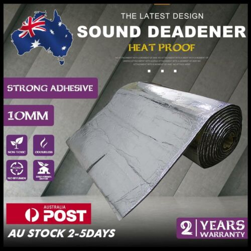 2m² Sound Deadener Car Heat Shield Insulation Deadening Mat vs Dynamat