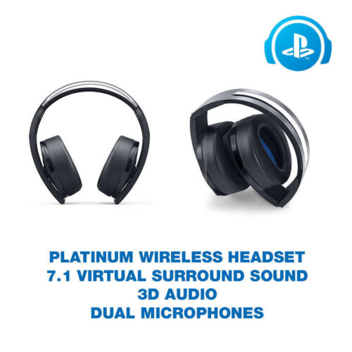 Genuine Sony Playstation 4 Platinum Wireless Headset Only