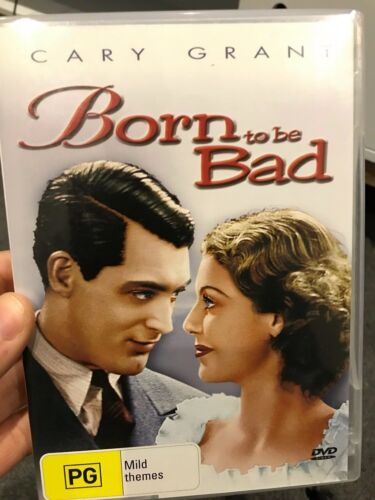 Born To Be Bad region 4 DVD (1950 Cary Grant film-noir drama movie)