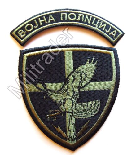 Serbia Serbian Counter-Terrorist Battalion Patch w/ Tab (Subdued)Other Militaria - 135