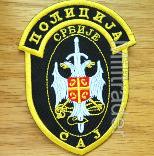Serbia Serbian Special Forces Counter/Anti-Terrorism Group PatchOther Militaria - 135