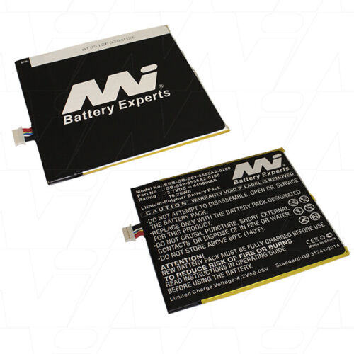 eBook Reader Battery EBB-GB-S02-3555A2-0200 - For Amazon Kindle Fire