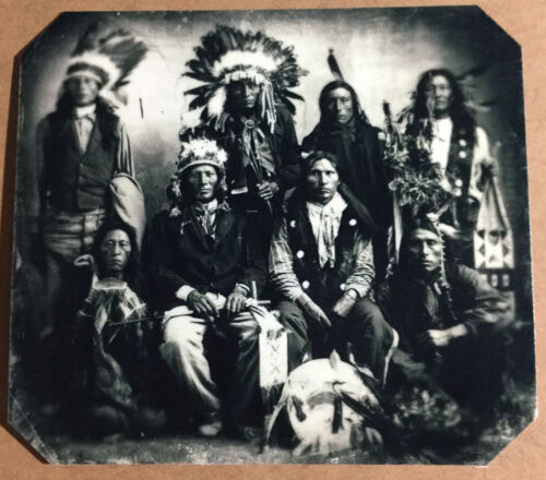 Chiefs Of the Sioux Indians tintype C1047RP