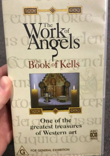 The Book Of Kells - The Work Of Angels VHS VIDEO TAPE (art documentary)