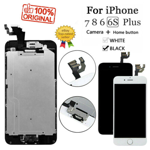 For iPhone 6S 8 6 7 Plus LCD Dispaly Touch Screen Complete Replacement + Button <br/> US-STOCK✔AAA Quality ✔ Fast Free Shipping✔ BEST SELLER✔