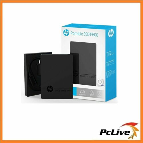 NEW HP P600 1TB Portable Solid State Drive High Performance SSD USB 3.1 External