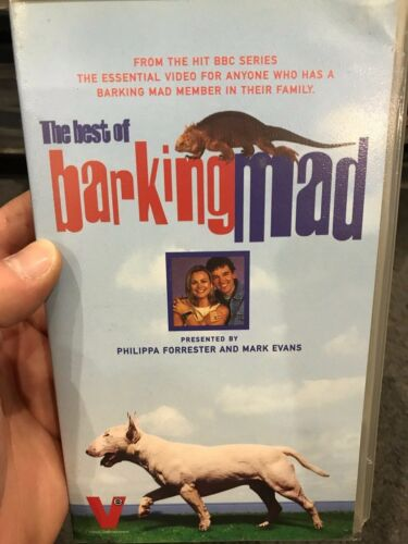 The Best Of Barking Mad VHS VIDEO TAPE (BBC UK animals / pets TV series)