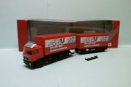 Herpa - Camion + remorque MAN Auto-Teile-Unger Neuf NBO HO 1/87