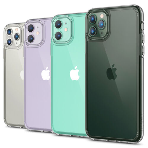 For iPhone 11, 11 Pro, 11 Pro Max Case | Spigen® [Ultra Hybrid] Clear Slim Cover