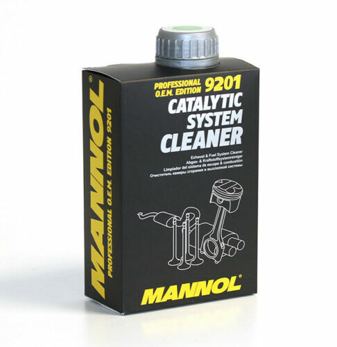 MANNOL 9201 CATALYTIC SYSTEM CLEANER - Professional O.E.M. Edition fuel additive