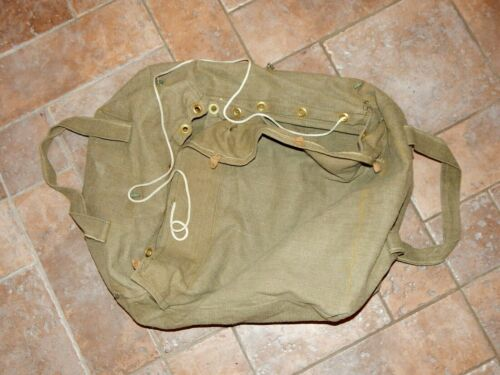 USSR Soviet Russian Army Paratroopers tarpaulin Carrying Parachute Cargo Bag   Original Period Items - 13983