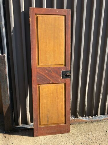 c1820/30 grain painted closet door GORGEOUS color original hardware 74.75 x 23.2