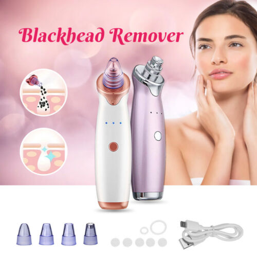 Vacuum Electric Facial Pore Blackhead Remover Acne Cleaner Suction Dermabrasion
