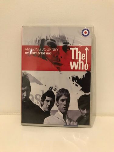 Amazing Journey - The Story Of The Who region 4 DVD (2 discs) music documentary