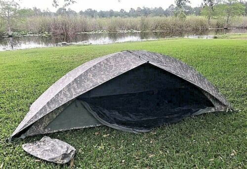 US Military ICS ORC Improved Combat Shelter One Man Tent Fly COMPLETE  ACU EXCOther Current Field Gear - 36071
