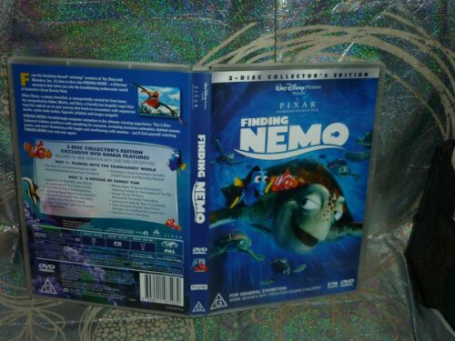 FINDING NEMO (2-DISC COLLECTOR'S EDITION) (DVD, G) (149843 K)