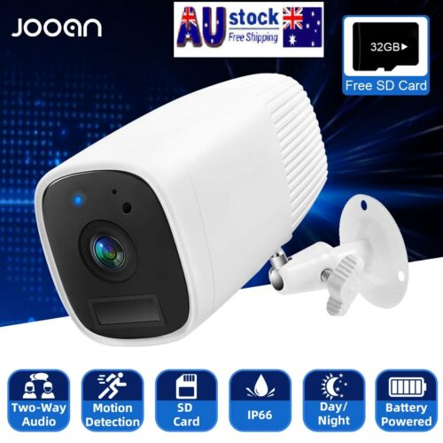 1080P Outdoor Rechargeable Battery Wireless  Wifi Security IP Camera Home CCTV