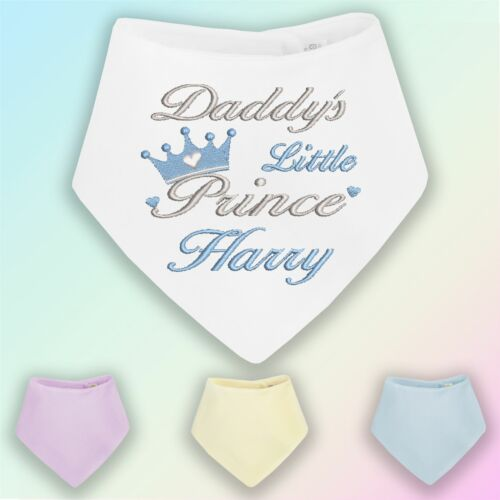 White Me and My Daddy Love Everton for Football Fans Personalised Baby Bib