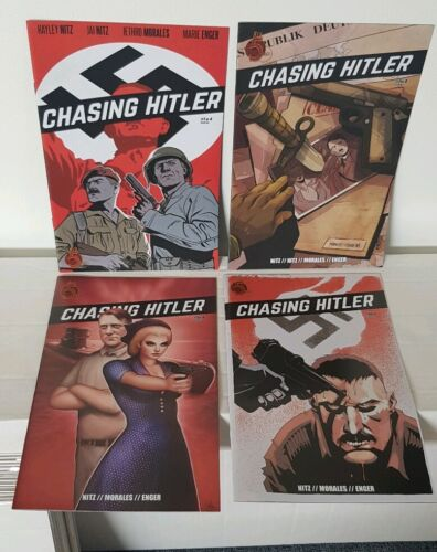 CHASING HITLER #1-4 Complete Miniseries Red 5 Comics 2017