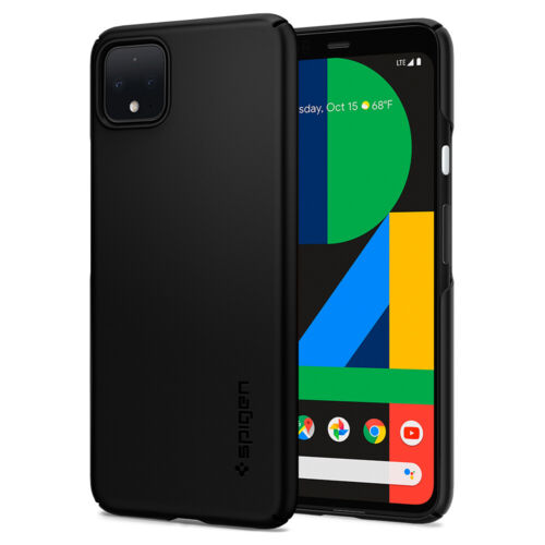 Google Pixel 4, Pixel 4 XL Case Spigen® [Thin Fit] Slim Lightweight Cover