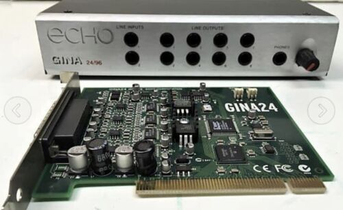Echo Gina  PCI Audio Interface Sound Card 24 bit/96khz Echo Audio