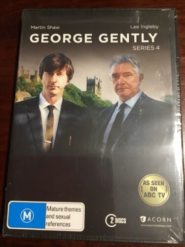 GEORGE GENTLY Series 4 Martin Shaw 2 New Sealed DVDs R4 PAL