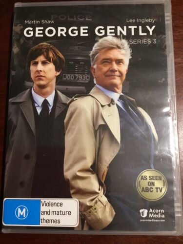 GEORGE GENTLY Series 3 Martin Shaw New Sealed DVD R All PAL