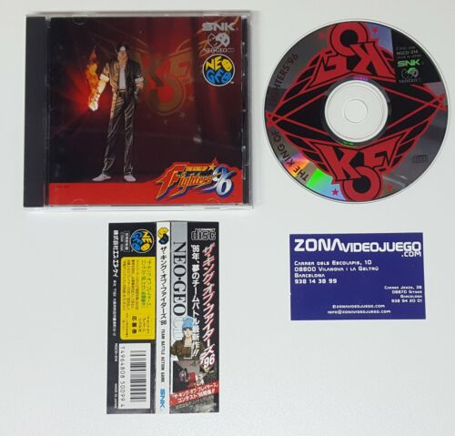 The King of Fighters 96, Neo Geo Cd, Jap.