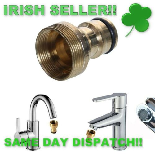 Universal Kitchen Tap Connector Mixer Garden Hose Adaptor Pipe Joiner Fitting