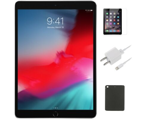 ZTE TREK 10.0 32GB BLACK WIFI +4G AT&T (K92) ACCESSORY BUNDLE WITH FREE SHIPPING