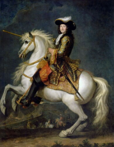 Louie 14th, King of France oil painting Giclee Art Printed on canvas L2833