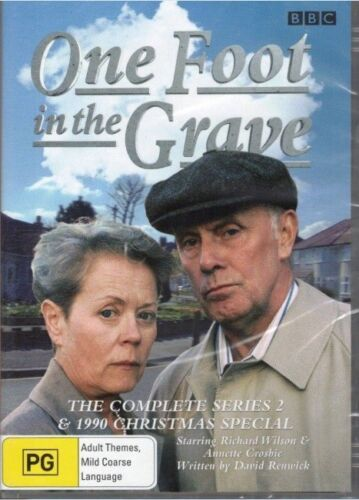 ONE FOOT IN THE GRAVE  SEASON 2 AND 1990 CHRISTMAS SPECIAL dvd REGION 4 bbc