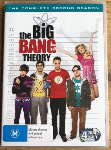 THE BIG BANG THEORY SEASON 2 dvd set REGION 4 complete SECOND SERIES comedy