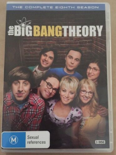 THE BIG BANG THEORY SEASON 8 dvd REGION 4 complete EIGHTH SERIES comedy SEALED