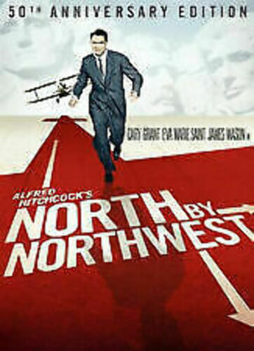 North by Northwest (2 Disc, 50th Anniversary Edition) DVD vgc  t60