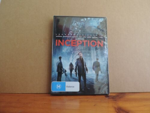 Inception dvd (2010) brand new and sealed region 4