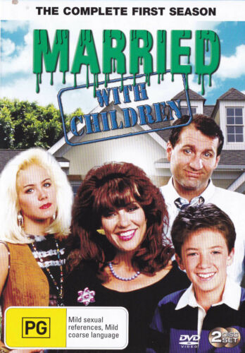 MARRIED WITH CHILDREN The Complete First Season DVD  R4 - PAL   SirH70
