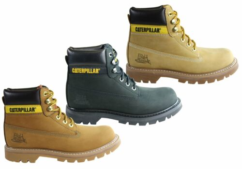 Mens Caterpillar Colorado Comfortable Leather Lace Up Boots - ModeShoesAU