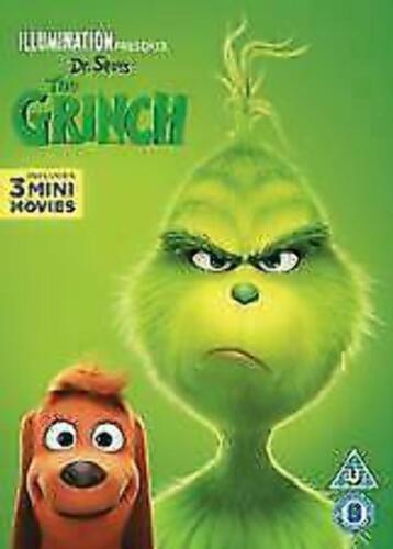 The Grinch Includes 3 mini movies DVD brand new sealed  t21