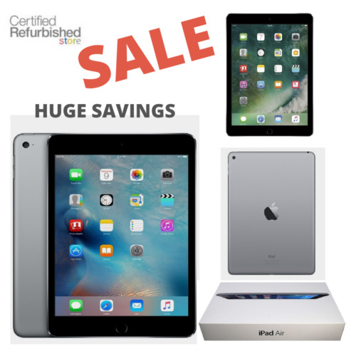 Apple iPad Air 2 - 16GB, Wi-Fi Only, 9.7-inch, Space Gray, and Comes With Bundle