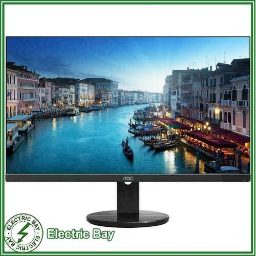 """AOC U2790VQ 27"""" UHD 4k ClearVision Frameless Computer Monitor 5ms HDMI DP IPS"""