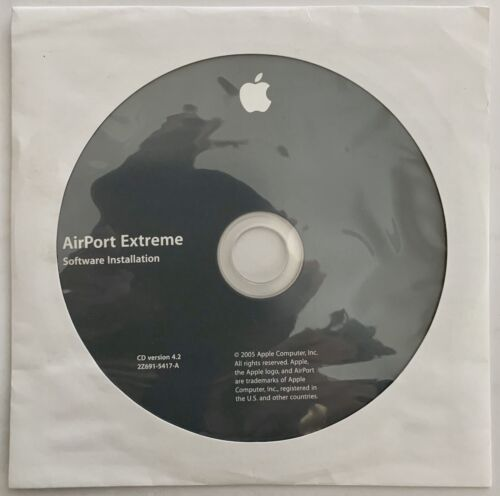 Airport Extreme 4.2 - Software Installation Disc - RARE VINTAGE