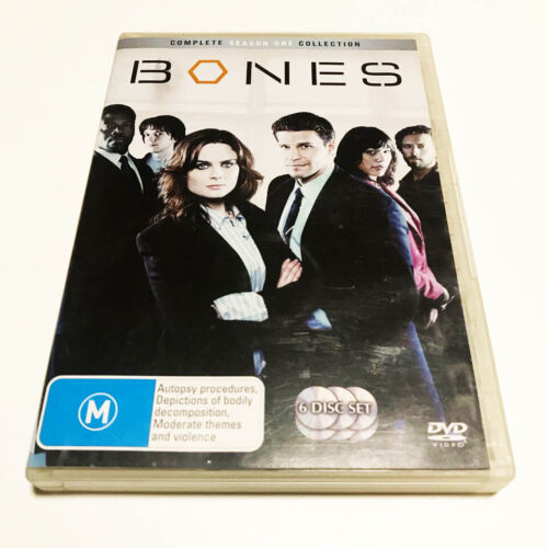 Bones Season 1 DVD 6-Disc Set