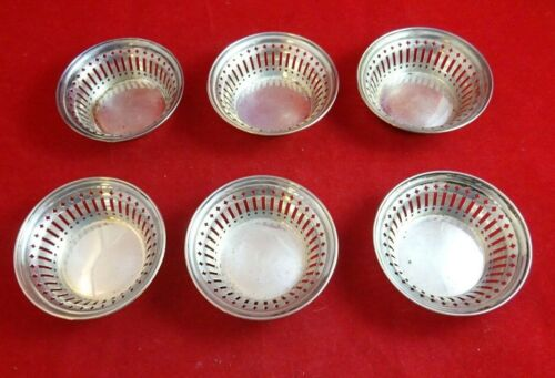 6 Sterling SilverCandy/Nut Dishes by Towle (#2618)