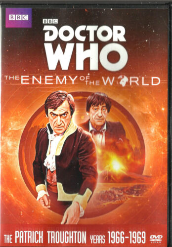 Doctor Who 2nd Dr  Enemy of the World Brand New but UNSEALED Region 2