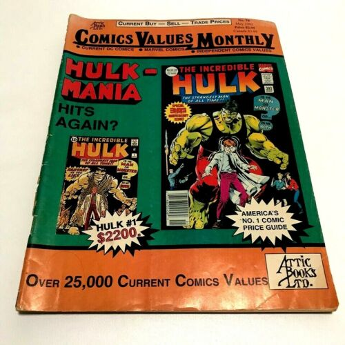 Comics Values Monthly Comic Book Price Guide Values #70  (May 1992)