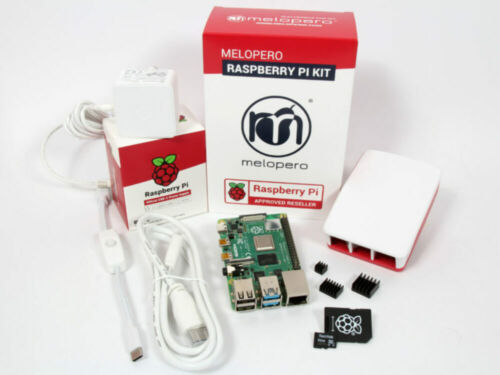 Raspberry Pi 4 Computer 4GB Ram OFFICIAL PREMIUM KIT with MicroSD 32GB