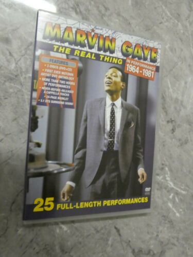 Marvin Gaye, The Real Thing 1964 - 1981 (DVD, Region 4) p1