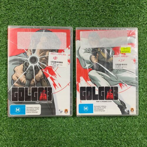 Golgo 13 (part 3 & part 4 available) DVD disk region 4 (sealed new)